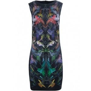 Alexander Mcqueen, Bird pattern dress, LE 3,690, available at Villa Baboushka